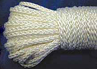 Cotton and Nylon Diamond Braids