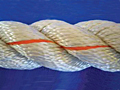 3-Strand Twisted Rope and 8-Strand Plaited Combination Rope